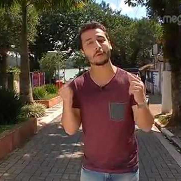 Felipe Fonseca apresenta as curiosidades da cidade de São Bernardo do Campo na Mega TV.