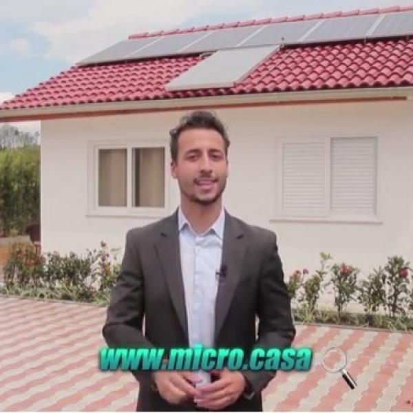 Felipe Fonseca apresenta Microcasa - Casa Sustentável.