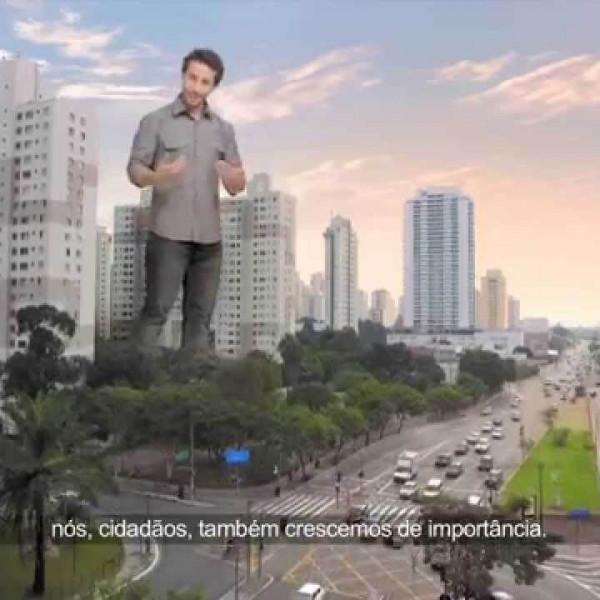 Prefeitura de São Paulo | Campanha Mobilidade | Gigante