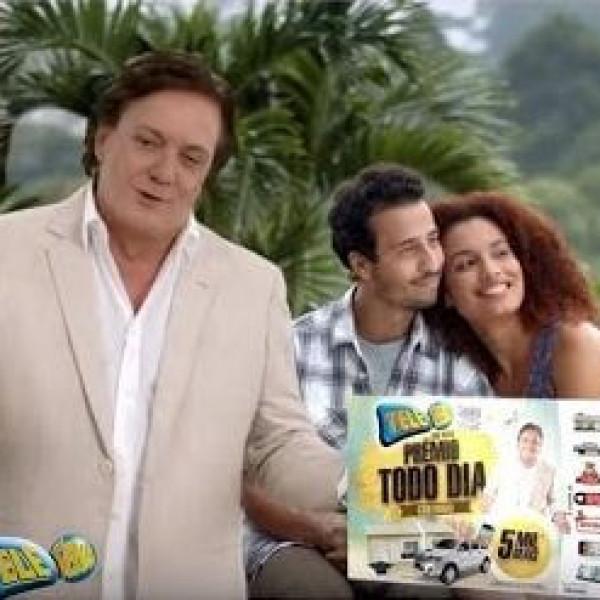 Tele Sena SBT |  Campanha de Ano Novo 2016 com Fábio Jr e Felipe Fonseca