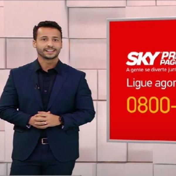 Felipe Fonseca como apresentador SKY Pré Pago na BAND | Felipe Fonseca Oficial