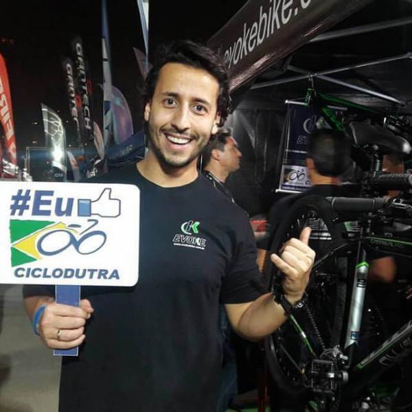 Felipe Fonseca apresenta Evoke Bike no Shimano Fest 2017.