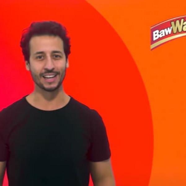 Felipe Fonseca como apresentador Baw Waw.