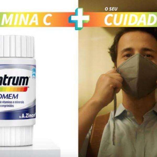 Felipe Fonseca como ator no novo comercial de Centrum + você é cuidado de A a Zinco - Metades