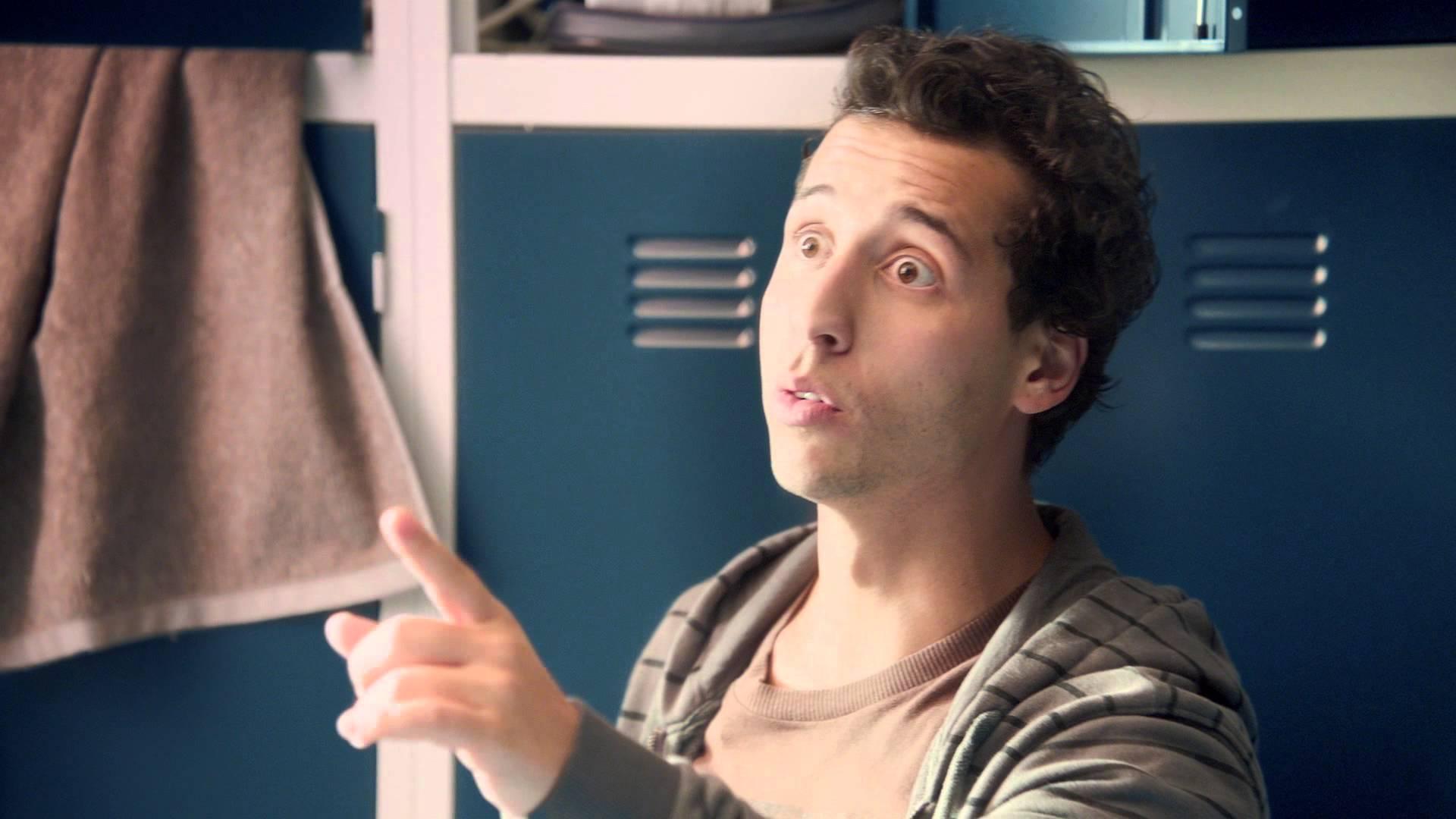 Felipe Fonseca no comercial do Snickers com Claudia Raia